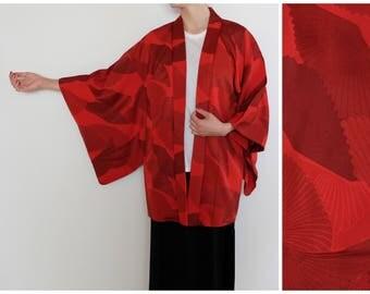 Stunning Red Haori Kimono -