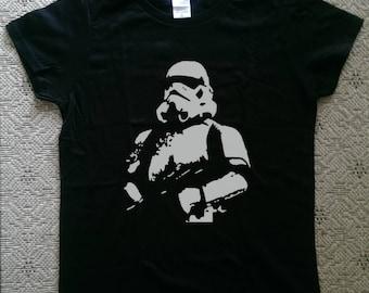 Star Wars Stormtrooper T-Shirt Stormtrooper Fun Shirt Star Wars Graphic Tee Silkscreen Print T-Shirt Men Women S-3XL T-Shirt