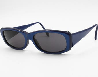 Vintage blue changing sunglasses X JAZZ by Optical City, Squared sunglasses, New Old Stock