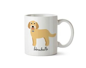Labradoodle Mug (yellow - boy)