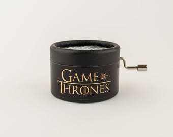 The original paperboard music box of Game of thrones. Music box for gift, series.