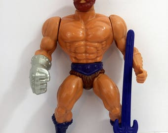 Vintage MOTU Fisto Action Figure Masters Of The Universe He-Man
