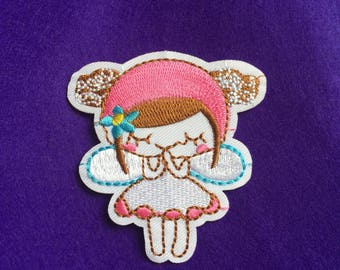 Fairy patch / fairy iron on patch / anime patch / sew on patch