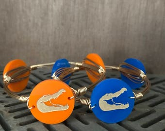 UF Bangle | Bangle | Bracelet | Bangle Bracelet | Bourbon and Bowties Inspired