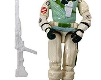 "Vintage 1986 G.I. JOE 3 3/4"" Action Figure Iceberg"