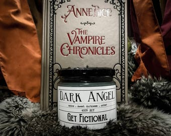 Dark Angel | (Louis) The Vampire Chronicles 12oz Soy Candle