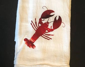 Crawfish Dish Towel