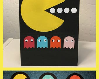 Pac-Man/Ms. Pac-Man Party Bags and Toppers Bundle