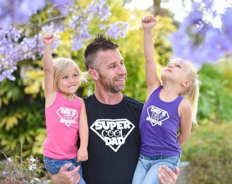Super cool dad shirt, dad shirt, father's day, gifts for dad, gifts for him, dad life shirt, matching shirt set, christmas gifts for him