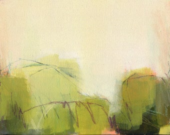 Dusk: Original Abstract Painting