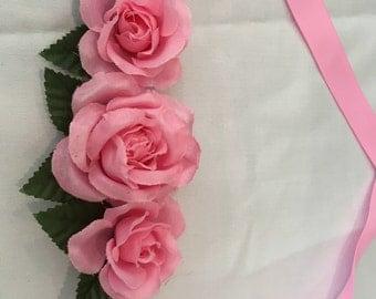 Baby tie wreath
