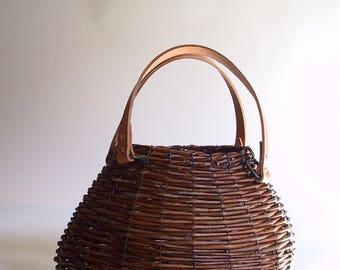 Large Wicker handbag