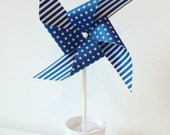 Navy Blue large windmill