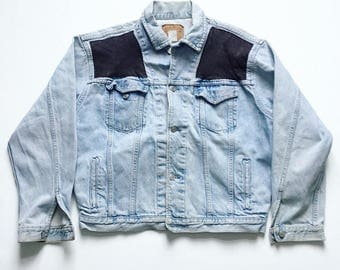 Vintage GAP jeans customized denim jacket vtg 80s 90s