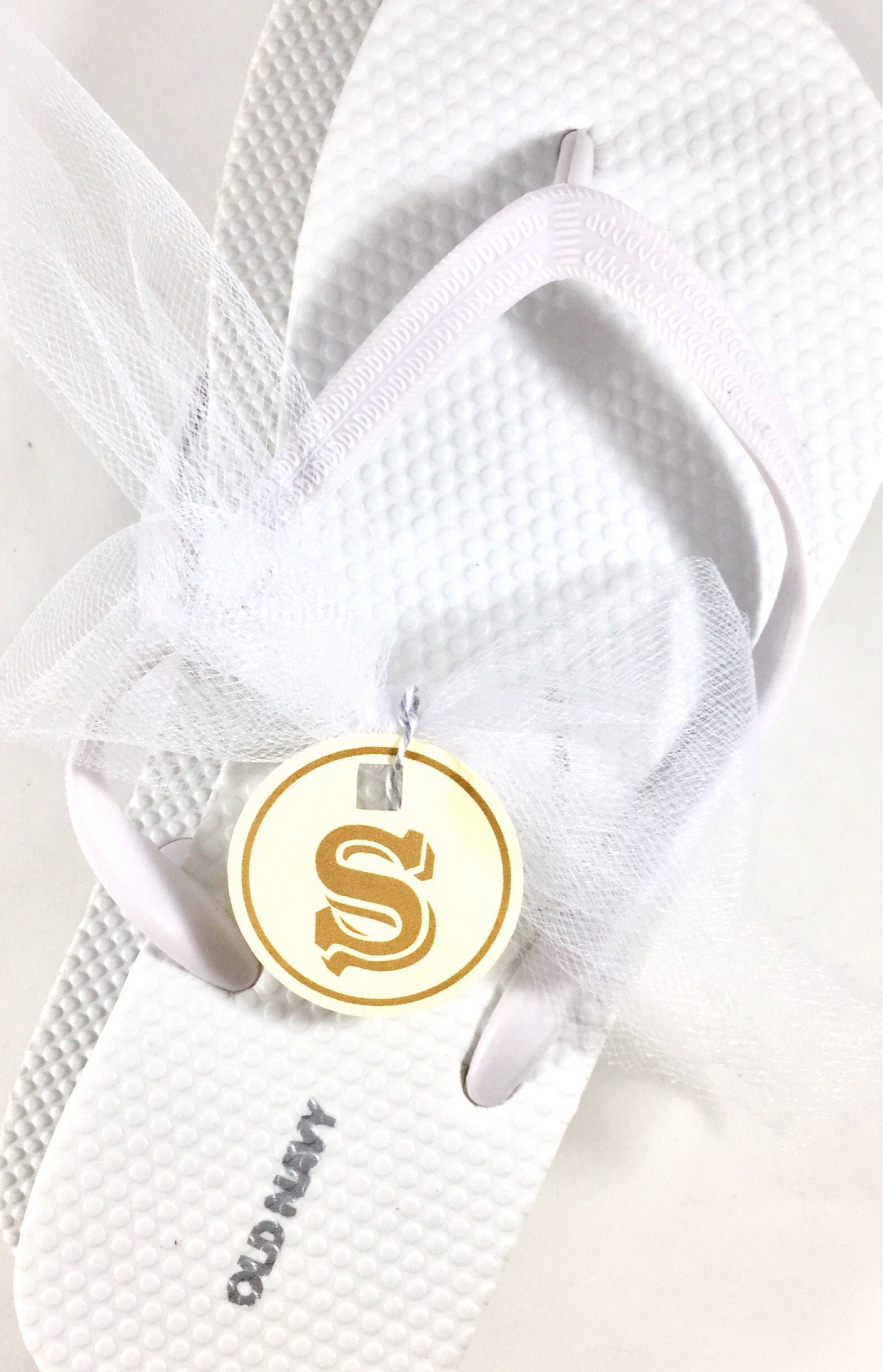 Size Tags, Custom Flip Flops, Shoe Tags, Wedding Favors, Number Tags ...