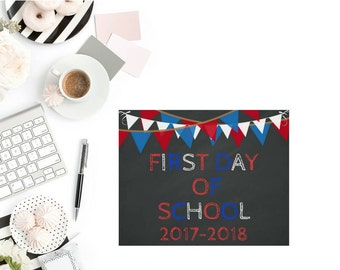 FREEBIE ***Read Item Details Below*** First Day Of School Printable '***Do Not Purchase This Listing***