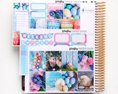 Easter MINI Weekly Kit (stickers for Erin Condren Life Planner - Vertical)