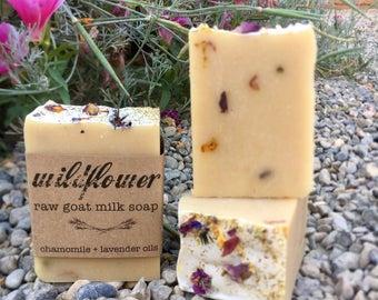 Wildflower Goat Milk Soap