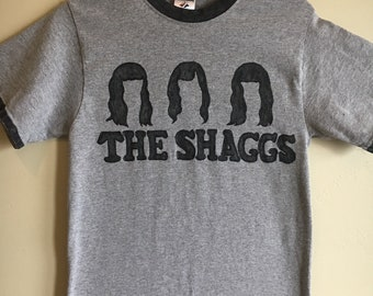 Retro THE SHAGGS Ringer Tee