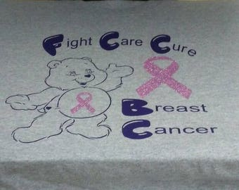 Cancer Tee! Fight Care Cure