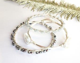 Silver Glitz & Glam Gift Set