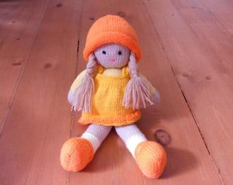 knitted dolls, knit doll, knitted toy doll, girls gift doll, crochet, knit girl doll, amigurumi doll, crochet doll, вязанные игрушки, dolls