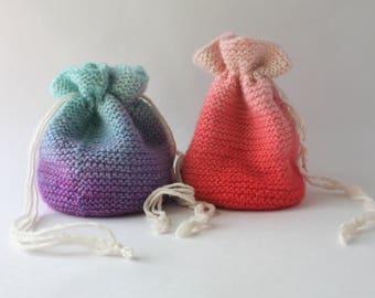Gradient Bags / Dice Bags / Large Drawstring Bags