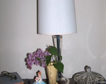 Vintage Cut Glass Dresser Dish/Lid Art Deco Hollywood Regency Fire King  SAVE 15% & FREE SHIPPING