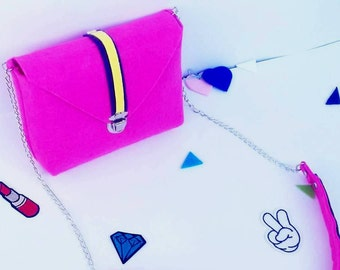 shoulder bag,casual bag, handbag,felt bag,wool bag,floral small messenger bag.