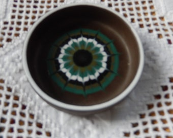 Hornsea Vitramic Lancaster Muramic Reto pottery pin tray c 1972, Hornsea  Pottery, Trinket Tray, Collectable Hornsea Pottery Tray