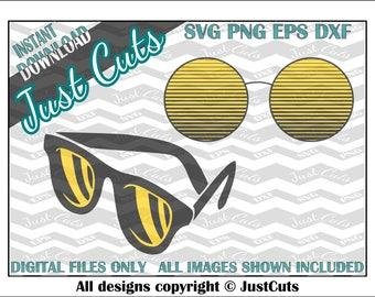 Sunglasses SVG, sunglasses, shades, svg bundle, eps, png, DXF, cutting files, summer, cricut, silhouette, fashion, glasses, cute