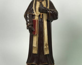 Carved Wood Religious Saint Vienne