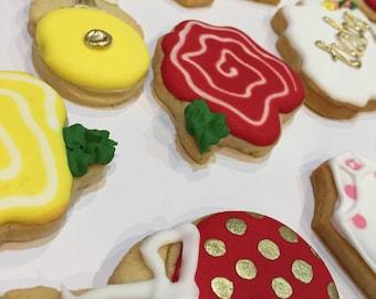 12 Baby Shower Cookies