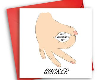 Funny Valentine's Day Card/ The Circle Game/ Funny Cards