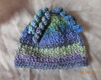 Baby or toddler hat, crocheted baby hat, crocheted toddler hat, baby girl or baby boy hat