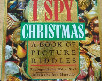 I Spy Christmas , 1992 , Jean Marzollo , Book of Riddles