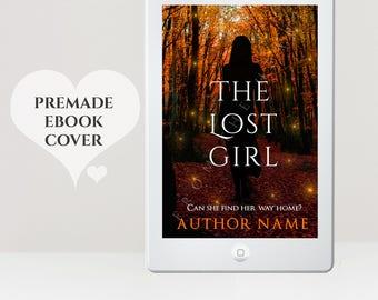 Premade eBook Cover - eBook Cover Design - Suspense eBook Cover - Mystery eBook Cover - Forest eBook Cover - Fantasy eBook -  Kindle Cover