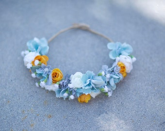 Custom Thin Flower Crown