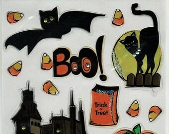 Halloween Magic Scraps Scrapbook Stickers Embellishments Cardmaking Crafts
