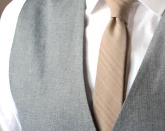Brown Tie with Men's skinny tie Wedding Ties Necktie for Men
