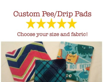 Custom Pee Pad orWater Bottle Drip Pad; For Guinea pigs, hedgehogs, and other small pets!