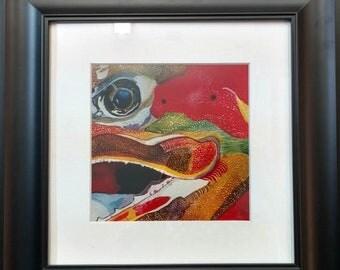 Eye to Eye~Framed Artist Print