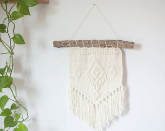 PDF Crochet Pattern for the Bohemian Wall Hanging