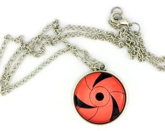 Naruto Sharingan Necklace or Keychain Anime CosPlay