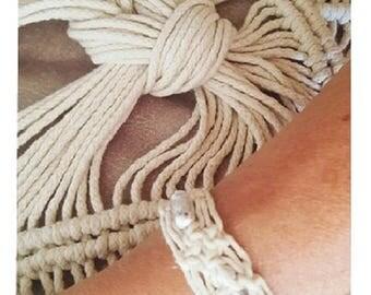 Beads silver bracelet