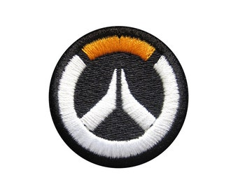Overwatch Embroidered Patch *Iron-On, Sew-On, or Hook and Loop*