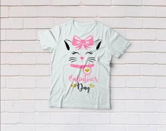 Kitty svg, cat svg, valentine svg, Valentines day svg, Eyelashes, SVG Files, Cricut, Cameo, Cut file, Files, Clipart, Svg, DXF, Png, Eps