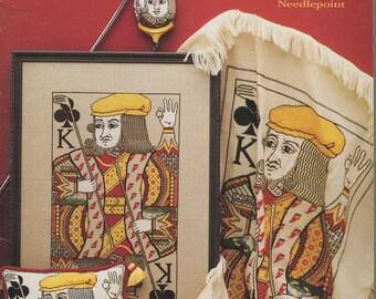 King of Golf Cross Stitch Book by Linda Gordanier Jary -- Item #2298