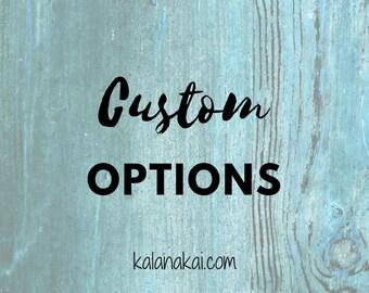Custom Option