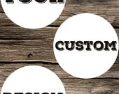 Maria - Custom Design Order Request Graphic Design DIY Printable Digital Download
